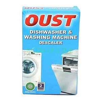 Oust Dishwasher & Washing Machine Descaler 2 x 75g