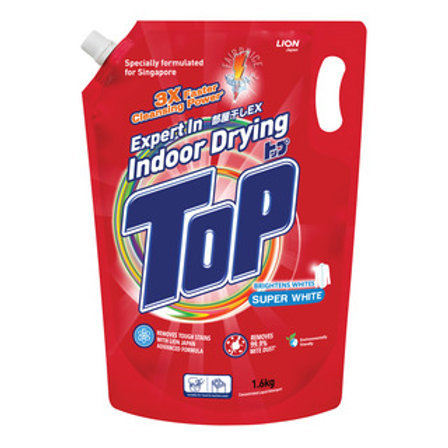 Top Concentrated Liquid Detergent Refill - Super White