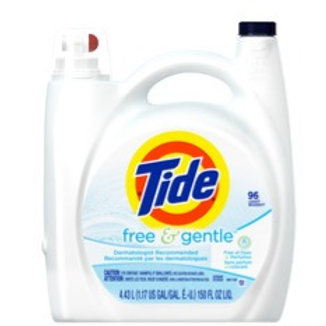 Tide Laundry Liquid - Free & Gentle