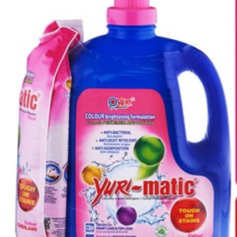 Yuri-matic Laundry Liquid Detergent with Refill - Floral 2.8kg + 630g