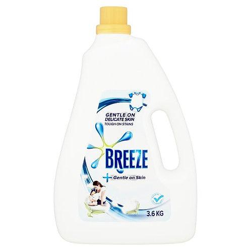 Breeze Liquid Detergent - Gentle on Skin + Refill 3.6kg + 1.5kg