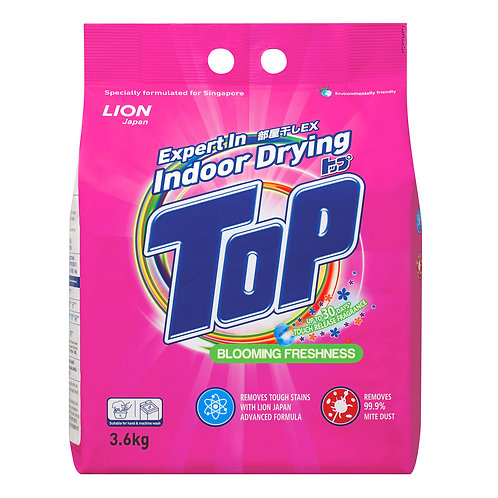 Top Detergent Powder - Blooming Freshness