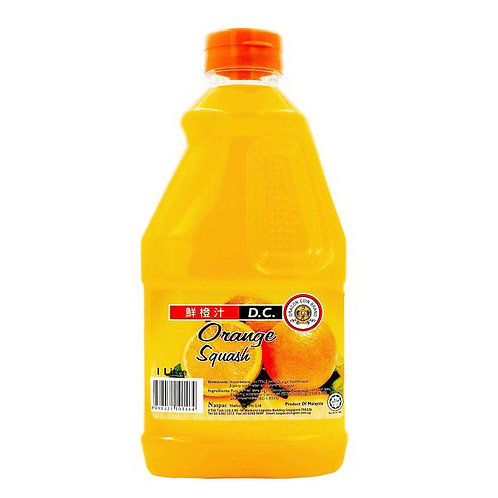 Dragon Coin Fruit Cordial - Orange Squash 1L
