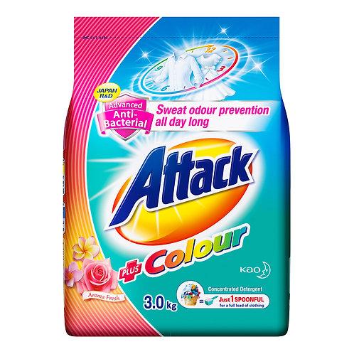Attack Powder Detergent - Plus Colour (Aroma Fresh) 3kg
