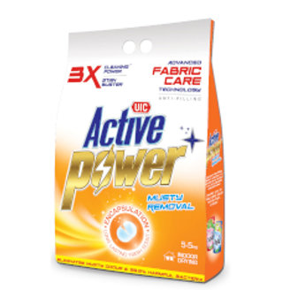 UIC Active Power Laundry Powder Detergent - Musty Removal 500g