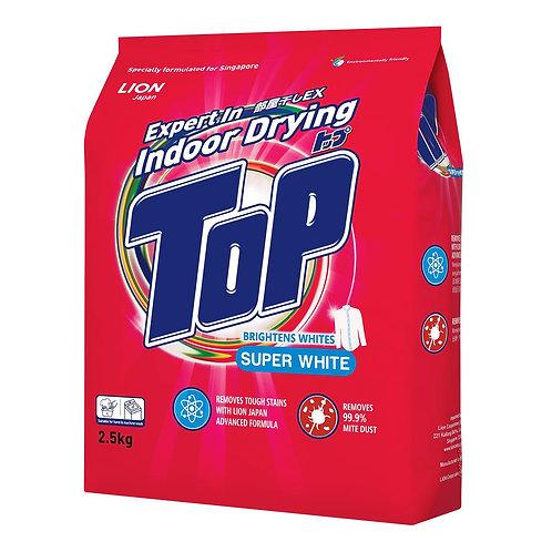 Top Detergent Powder - Super White 2.5kg