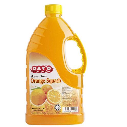 """DAY """"O"""" Orange Squash Syrup 2L"""