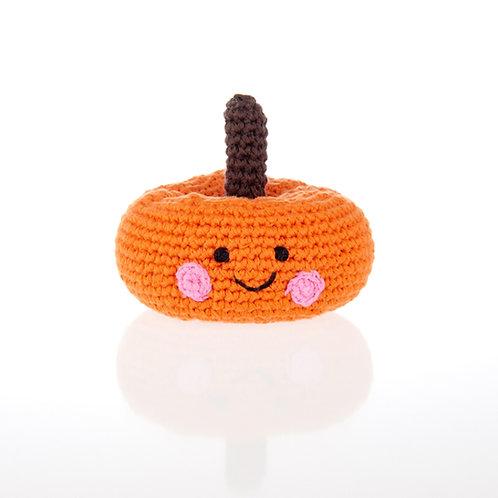 PebbleChild Vegetable rattles – pumpkin