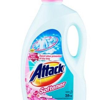 Attack Liquid Detergent - Plus Softener 3.6kg