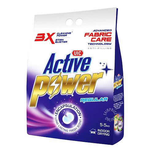 UIC Active Power Laundry Powder Detergent - Regular 5.5kg