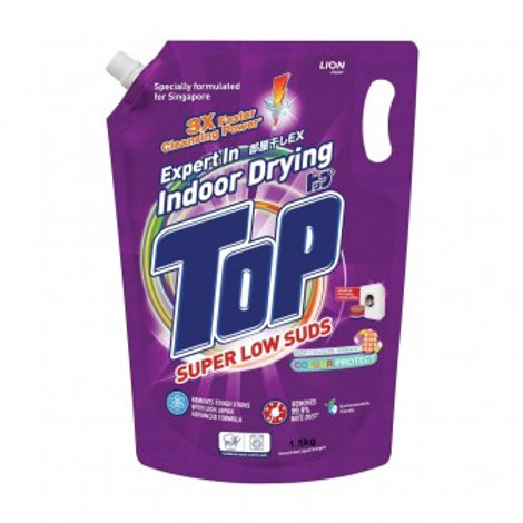 Top Concentrated Liquid Detergent Refill - Super Low Suds 1.5kg