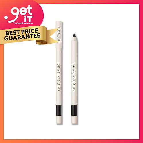 Focallure Lasting Soft Gel Pencil -01 Black with Shimmer
