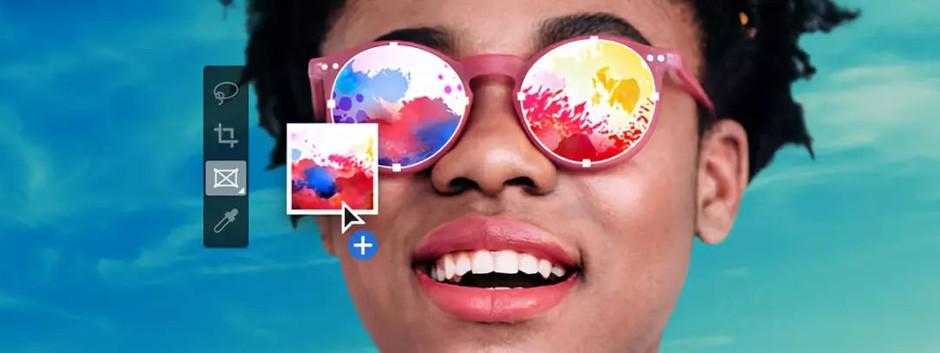 Photoshop Kolay maskeleme için Kare Aracı