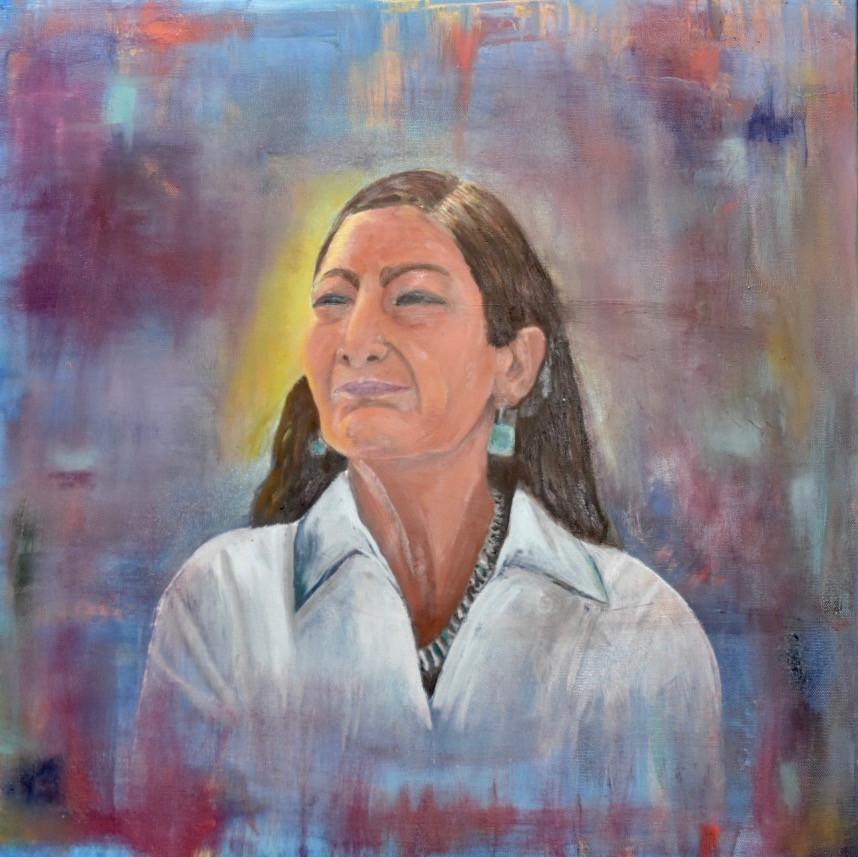 Fresh Voice, Oil on Canvas, 24x24