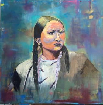 Pretty Nose, Oil on Canvas