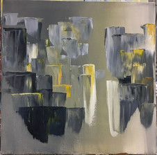 City, 2016, Oil on canvas