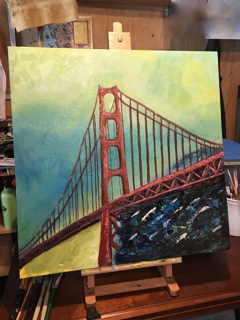 Golden Gate Bridge, 2017