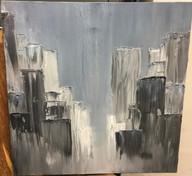 City, 2016, Oil on Canvas