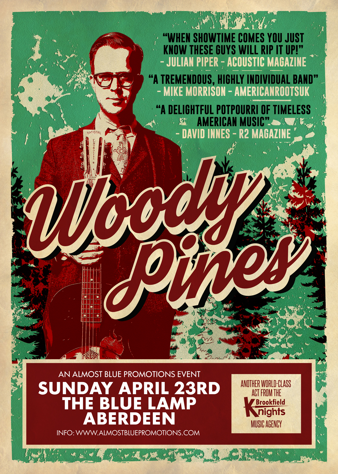 Woody Pines 2017 ABERDEEN