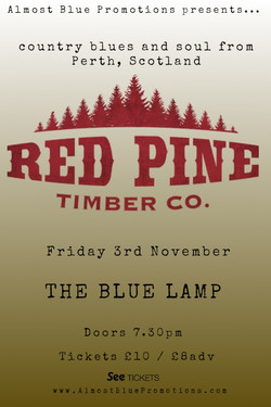 Red Pine Poster