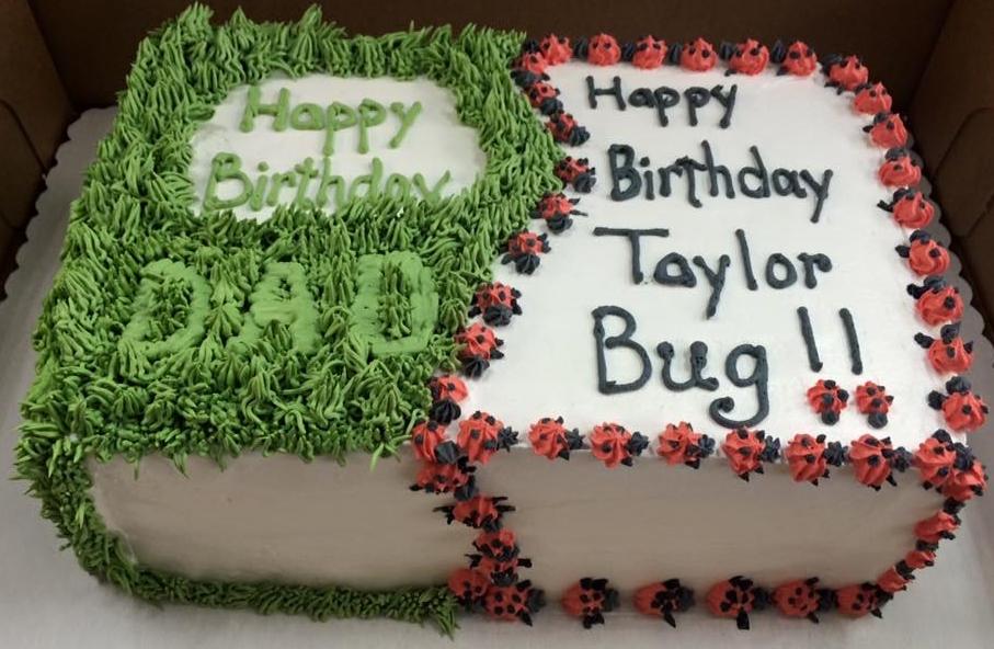 shared cake
