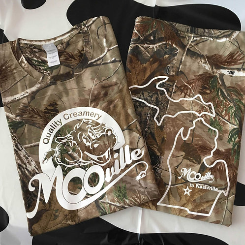 MOO-ville Camo T-Shirts