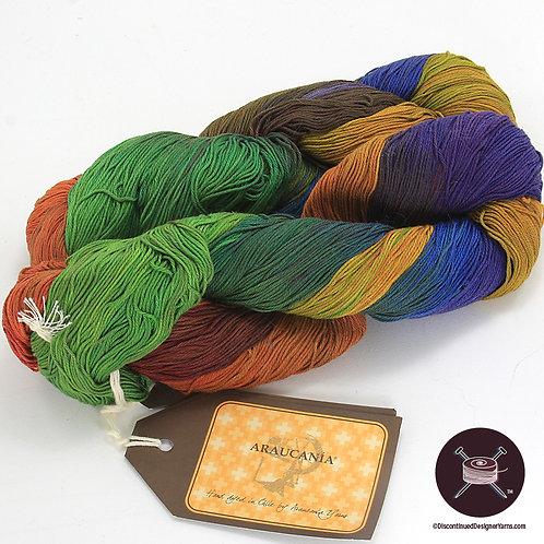 handdyed mercerized cotton yarn