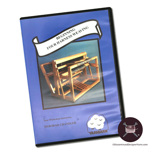 Beginning Four Harness Weaving dvd cover