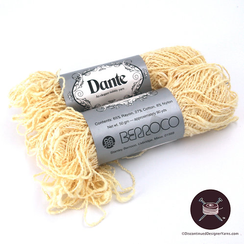 Dante Textured Rayon-Cotton - Pastel Yellow - 2 avail