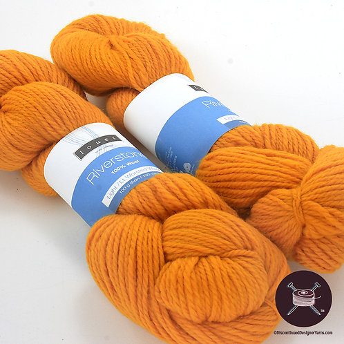 deep gold wool yarn