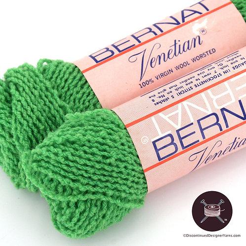 Bernat Venetian wool boucle - green - 4 avail
