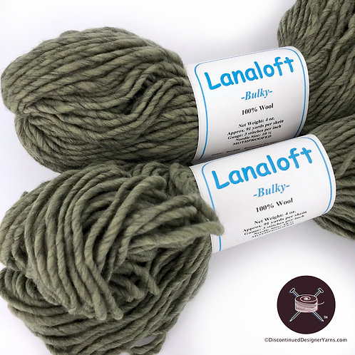 Sage heather green wool yarn Brown Sheep Lanaloft