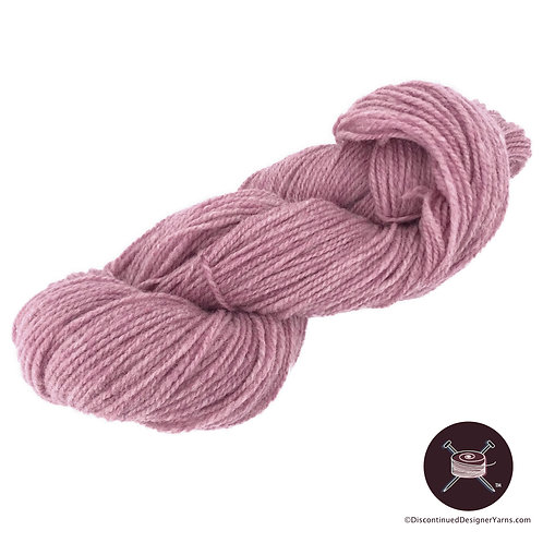 medium rose heather rustic wool from Canada