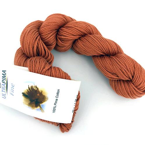Pima cotton yarn, fingering weight