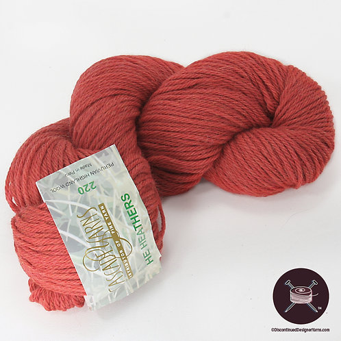 Cascade 220 - Red Heather - 1 avail