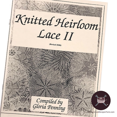 Gloria Penning Knitted Heirloom Lace 2
