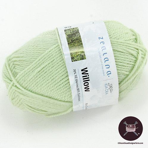pale green merino cashmere yarn