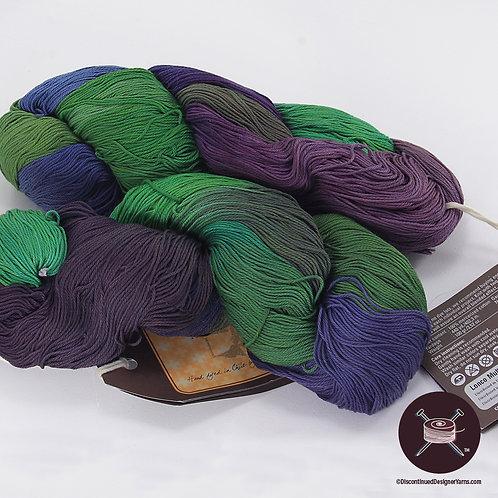 Araucania Lonco Multi Cotton - PurpleGreen - 2 avail