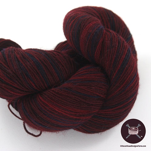 Heritage Handpainted Sock Yarn - Ruby - 2 avail