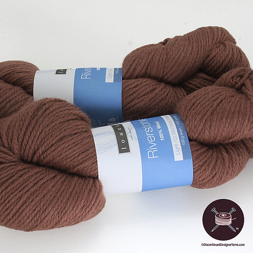 Riverstone Wool - Sandalwood - 8 avail