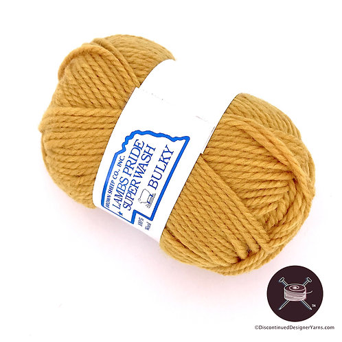 Wild Honey golden yellow superwash bulky wool