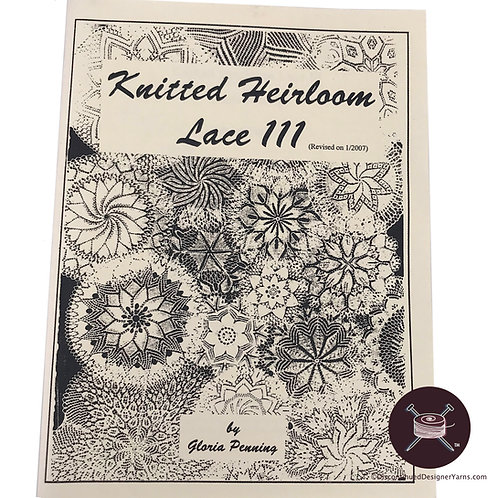 Book 3 Knitted Heirloom Lace - 21 patterns