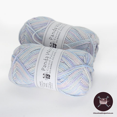 ice blue pastel bamboo yarn