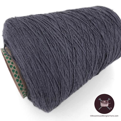 Grey cotton 6/2 yarn on cone