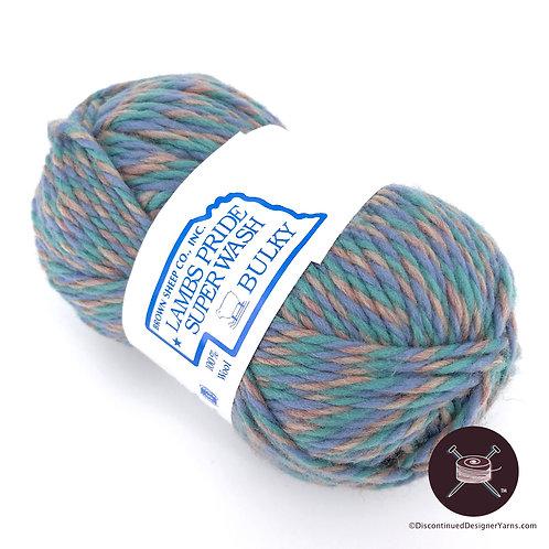 Lamb's Pride Superwash Bulky - Turquoise Marl - 9 avail