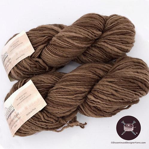 Cascade Jewel single ply bulky yarn light brown shades