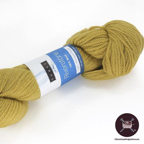mustard wool worsted yarn