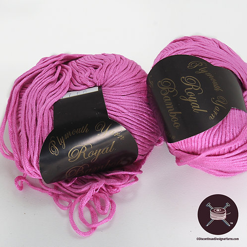 orchid pink/rose bamboo yarn, soft and silky