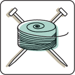 yarn and needles logo