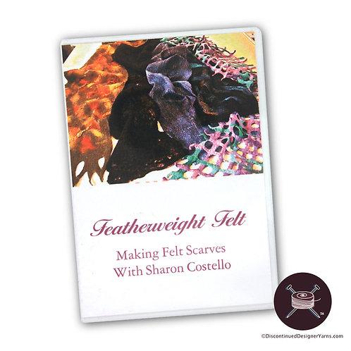 Sharon Costello Featherweight Felt DVD cover